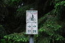 #9: Bicycle sign