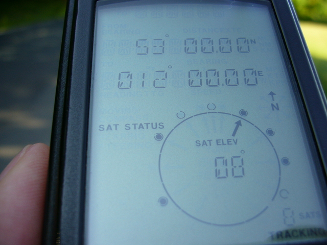It is easy to zero out my old GPS receiver