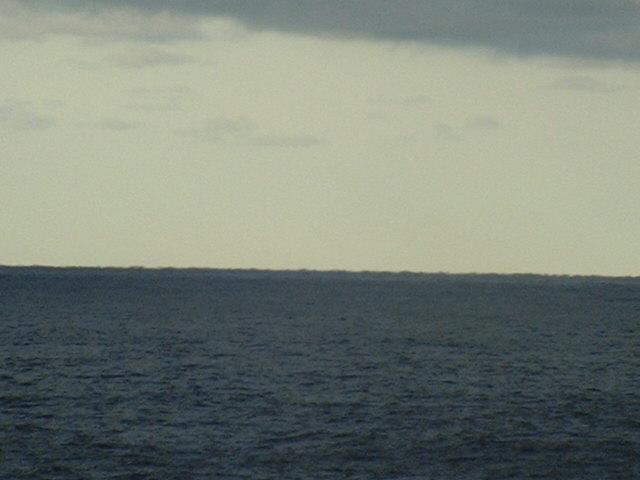 Bornholm seen from the confluence