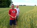 #7: Sean and Randy Inspecting The Crop