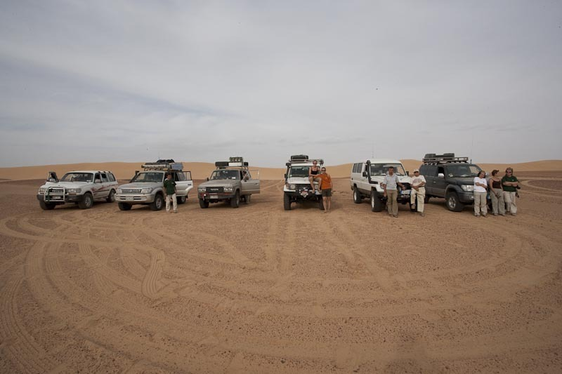 The Cars of The Group