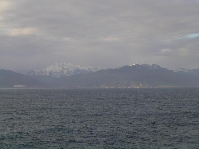 View of the Atlas mountains towards SW
