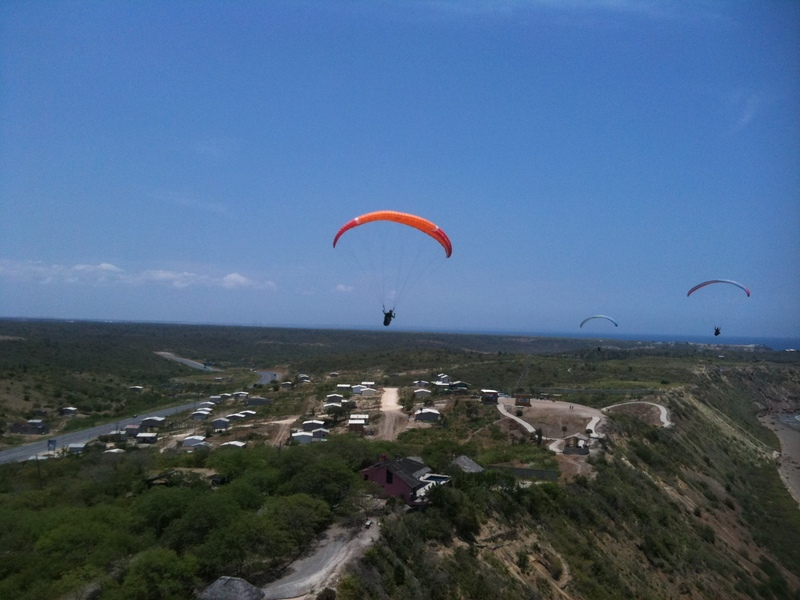 paragliding in San Pedro