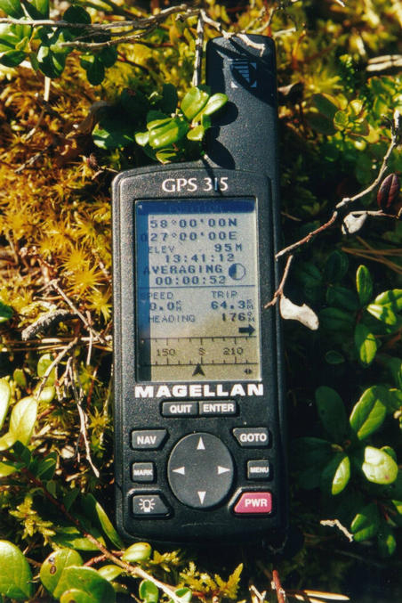View of Magellan GPS 315