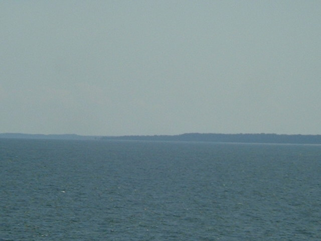 North Ristna Cape, the closest point of land to the confluence
