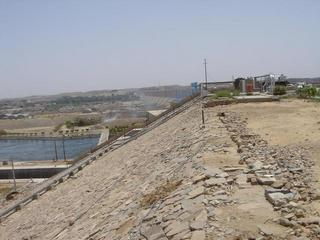 #1: A view of the Aswān Dam, small one.