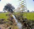 #2: Looking south providing a glimpse of the small ditch that kept me 16 meters shy of the mark. (No stepping in the water for this one – schistosomiasis is not for me!)