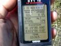 #5: GPS – 16 meters east of the mark.