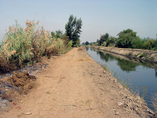 #1: The confluence area, looking north