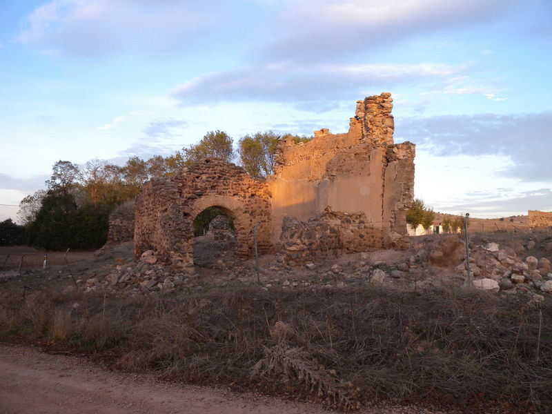 Ruins right next to the Confluence