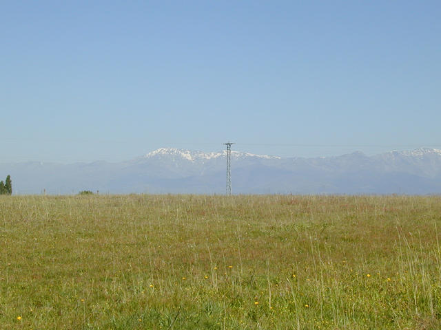 view to Sierra de Gredos