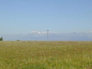 #1: view to Sierra de Gredos