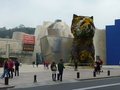 #7: The flower dog in front of Guggenheim Museum