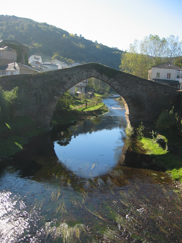 Medieval Bridge in Navia de Suarna