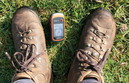 #6: A brand new Garmin GPS and my old Meindl Borneo