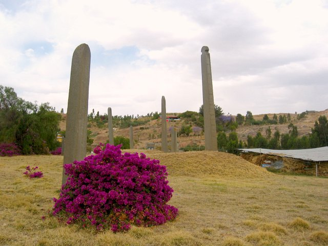 Historical stele in Axum
