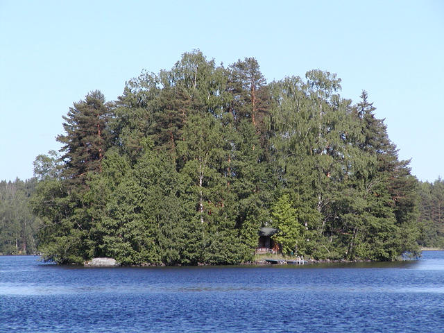 Typical Finnish summer cottage.