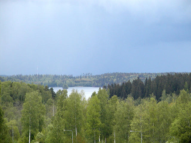 Local lake area.