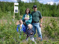 #6: The whole Bergmann family at the confluence