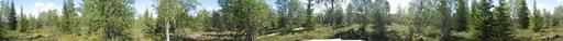 #1: 360 Deg photo of the confluence point N67E27