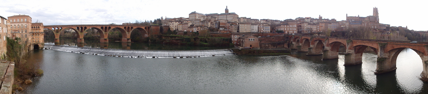 The wonderful heritage city of Albi