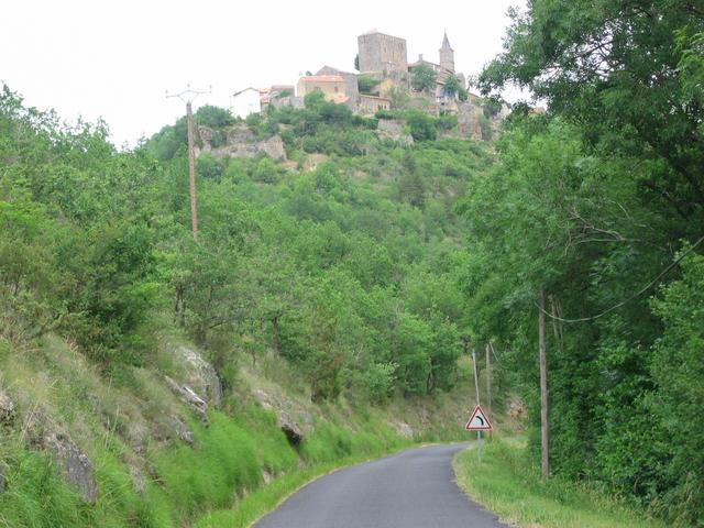Bastide Pradines - a fortified village, two kilometres further on, on the way back to the Causse.