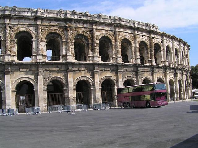 the Arena of Nîmes