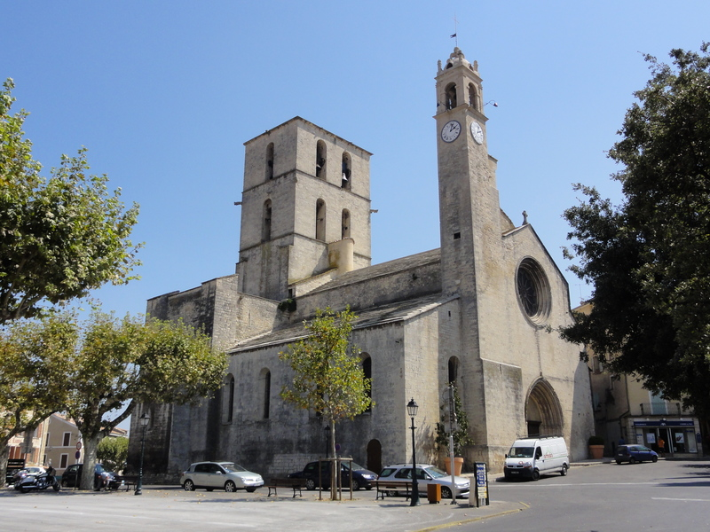 The FORCALQUIER roman cathedral (XIII century)