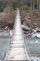 #10: Suspension bridge over the Cians