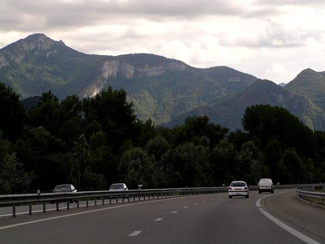 a scenic view from the motorway