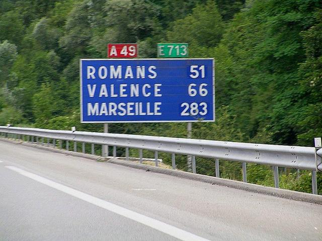 about 51 km to Romans, in which vicinity the next confluence is located