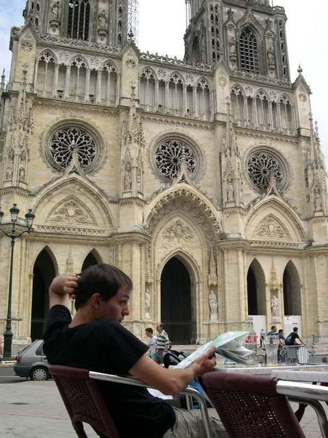 Orleans Cathedral with juju
