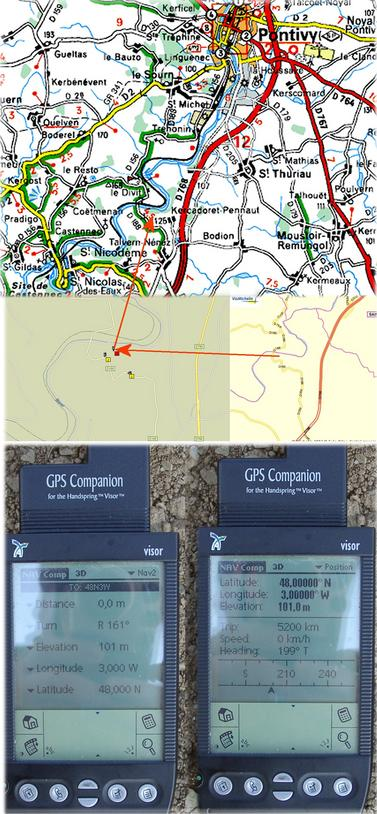 Maps & GPS reading