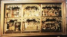 #9: Altarpiece of  carved wood, 16th century!