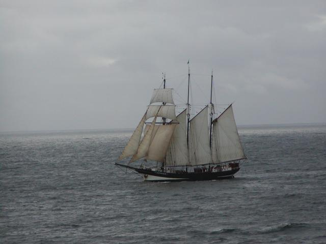 "The Dutch schooner ""Oosterschelde"""