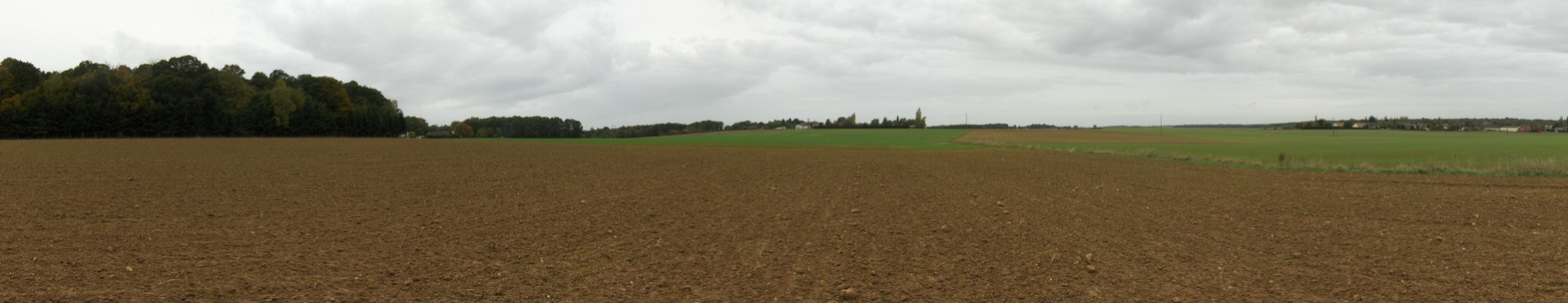 Panoramic view west-north-east