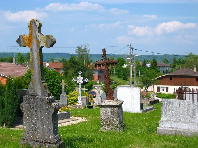The nearby Cemetery