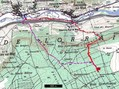 #8: Detailed map of 49°N 6°E with tracks