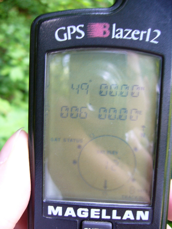 Old GPS receiver: easier to get all zeros