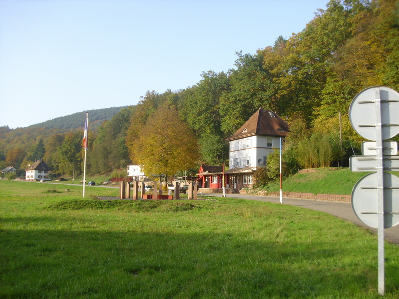 Checkpoint at the German-French border