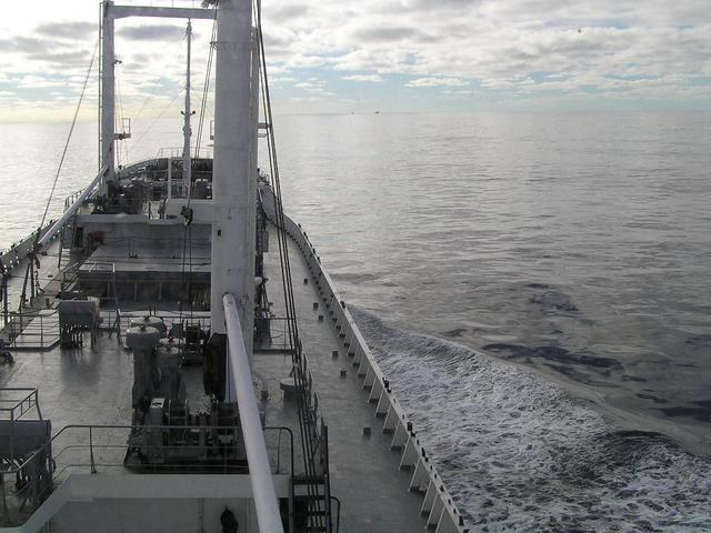 Calm seas in the Bay of Biscay