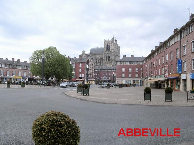 The town of Abbeville