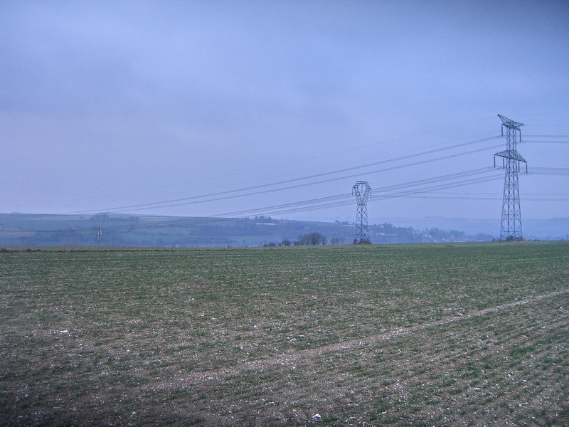 View to Longpré-les-Corps-Saints / Blick nach Longpré-les-Corps-Saints