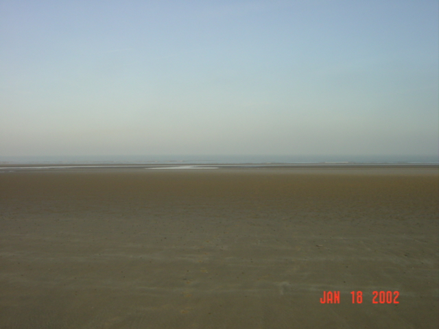 Looking North : the beach and the North sea