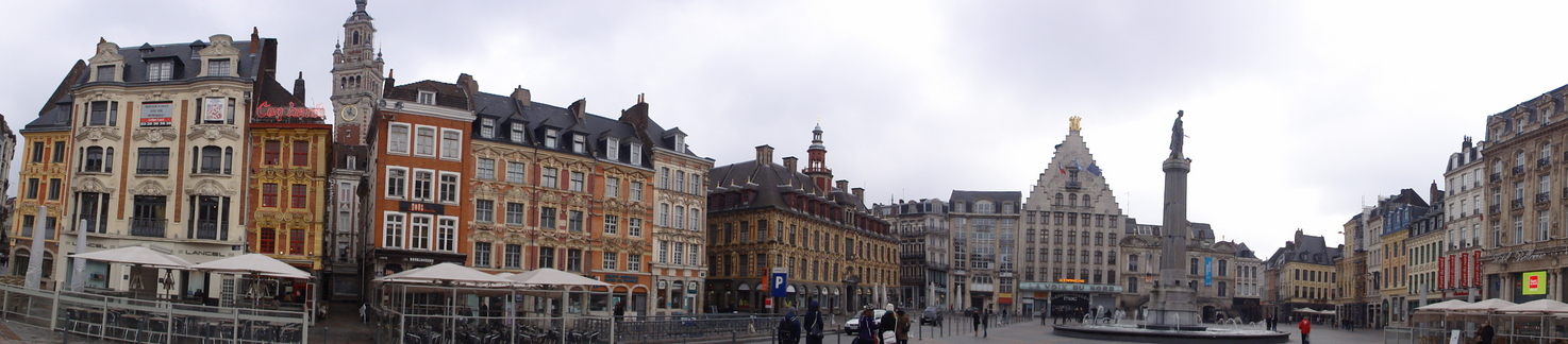 "The ""Grand Place"" at Lille"