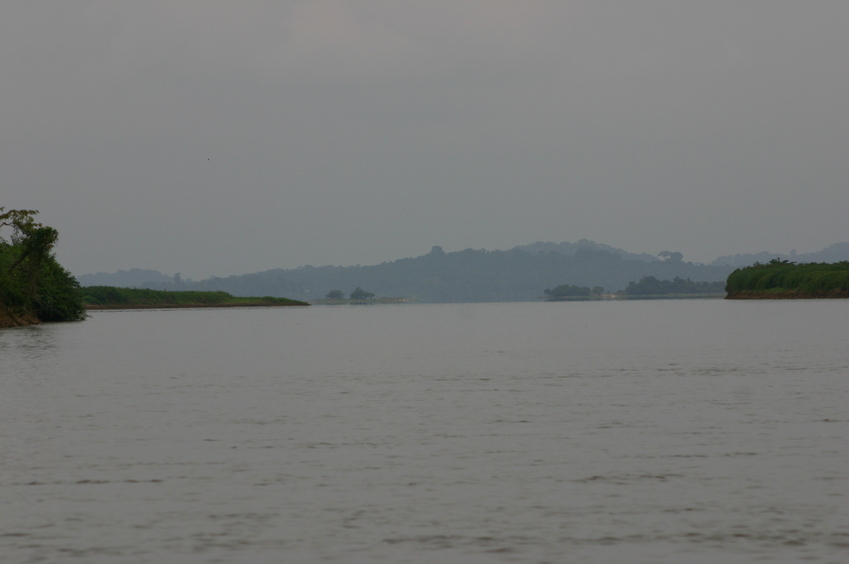Lake Onangué, looking south