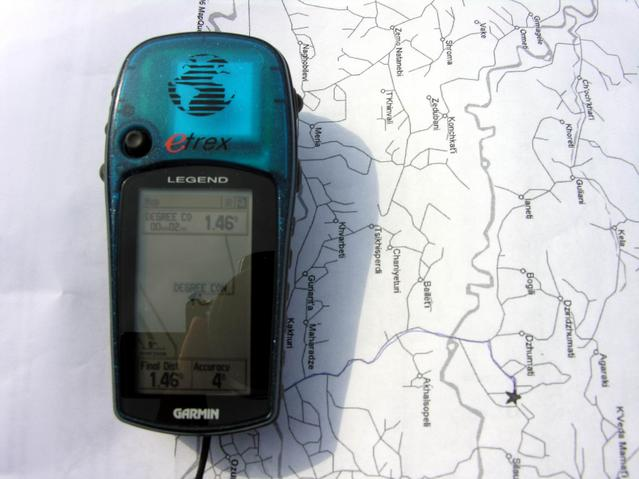 GPS map DC4242