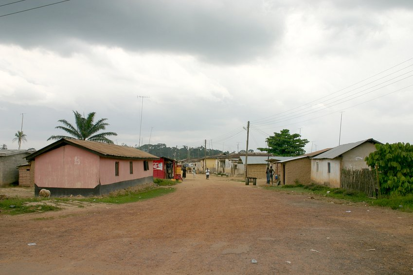 The village of Nkwanta