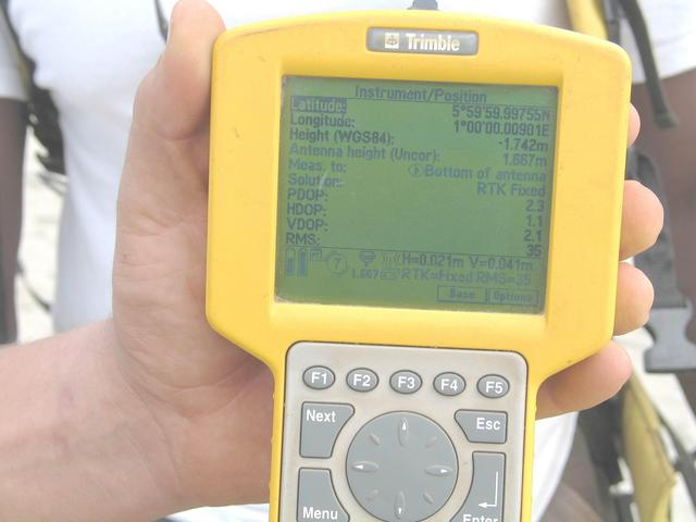 Proof! Trimble TSC1