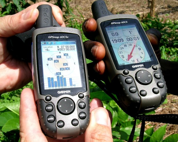 Two Garmin units agree at 7N 3W